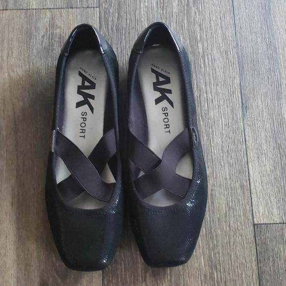 Anne Klein Sport Shoes - Anne Klein Sport Black Ballet Style Shoes